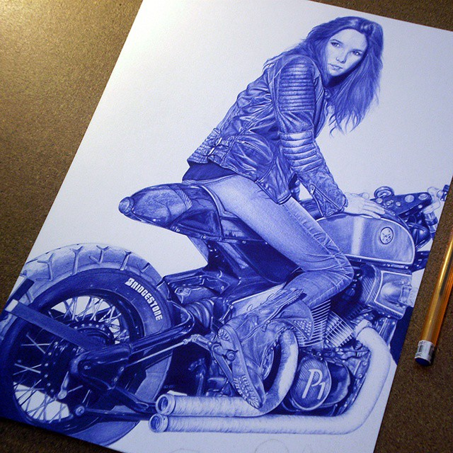 ridrer pen drawings by rafael augusto