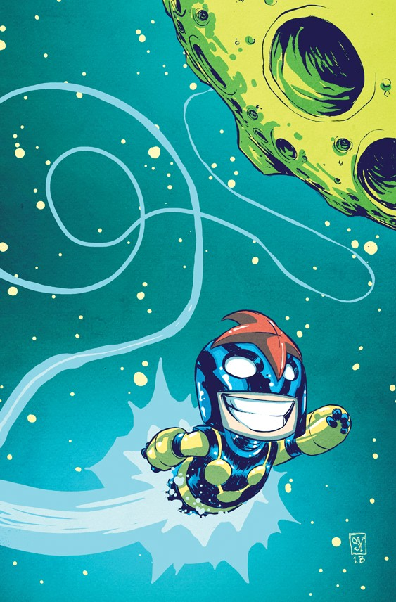 nova baby comic art by skottie young