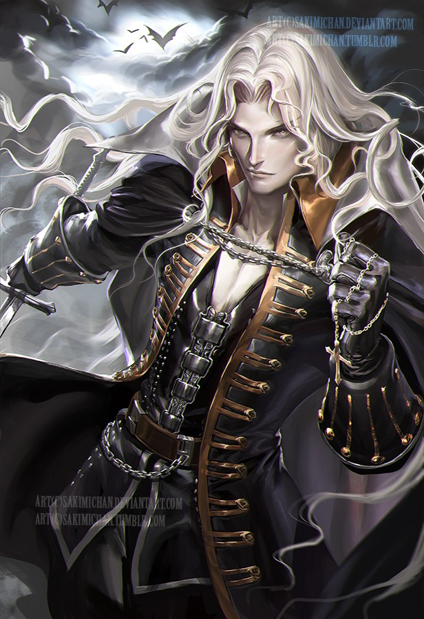 alucard digital art by sakimi chan