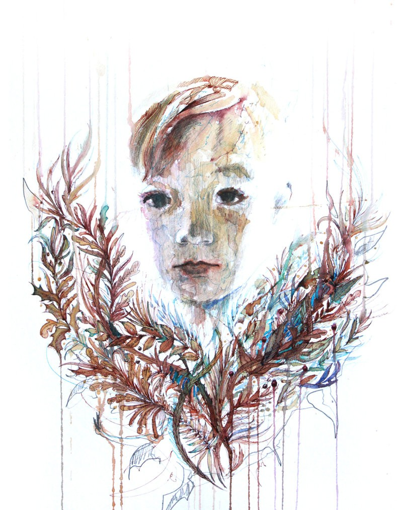 child creative drawings by carne griffiths