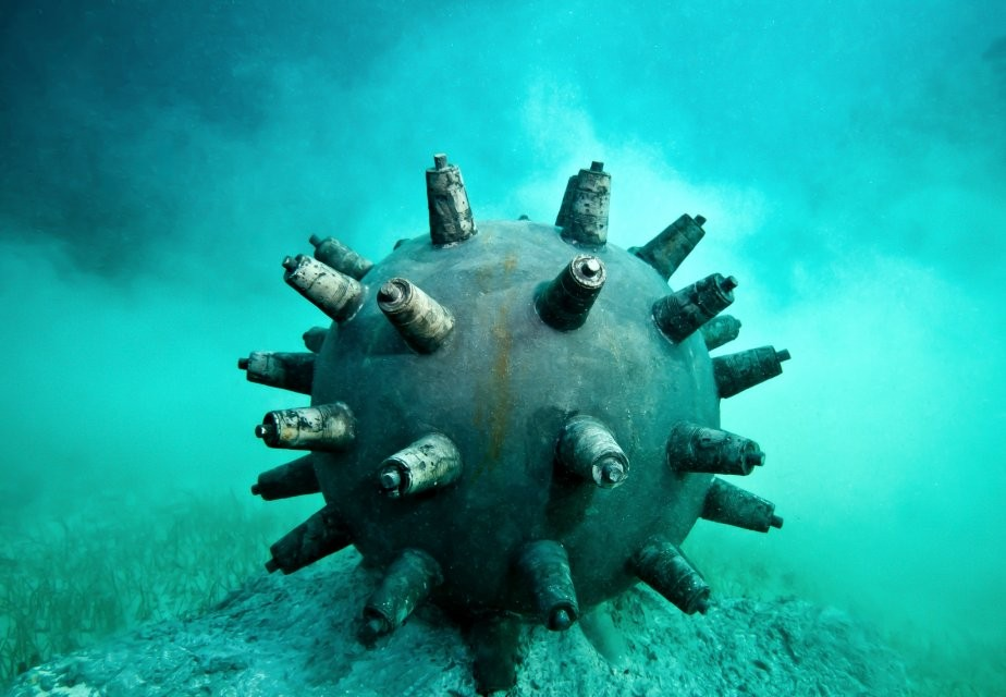 time bomb underwater sculptures by taylor