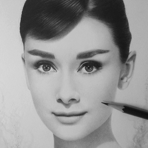 kandee johnson pencil drawings by nicolaus ferry