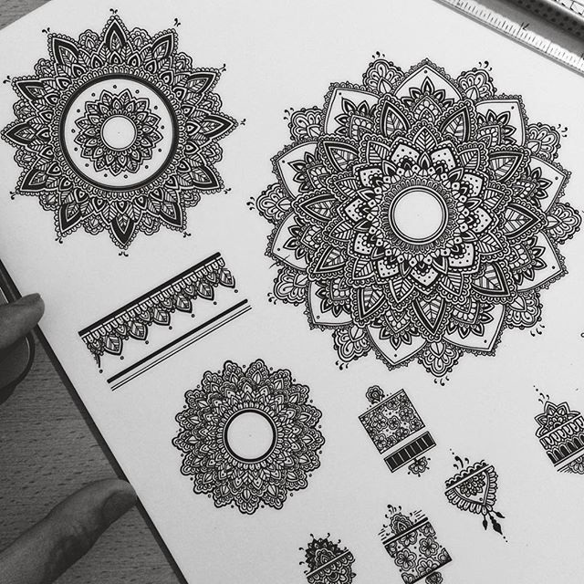 9 beautiful ornament art by asmahan ab