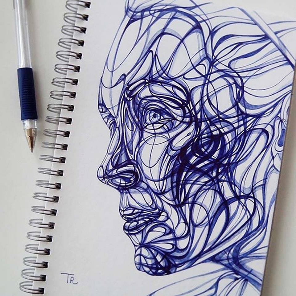 creative drawing by elena trukan
