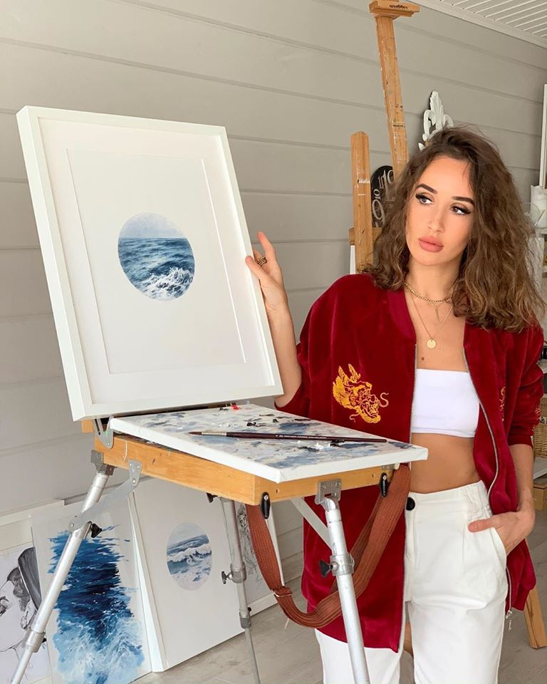 painting mini wave alena suleimanova