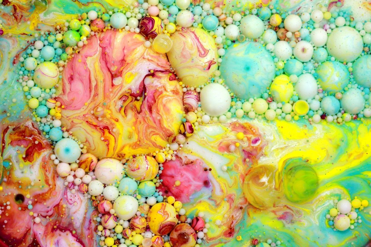 paintings bubble colors seb duke
