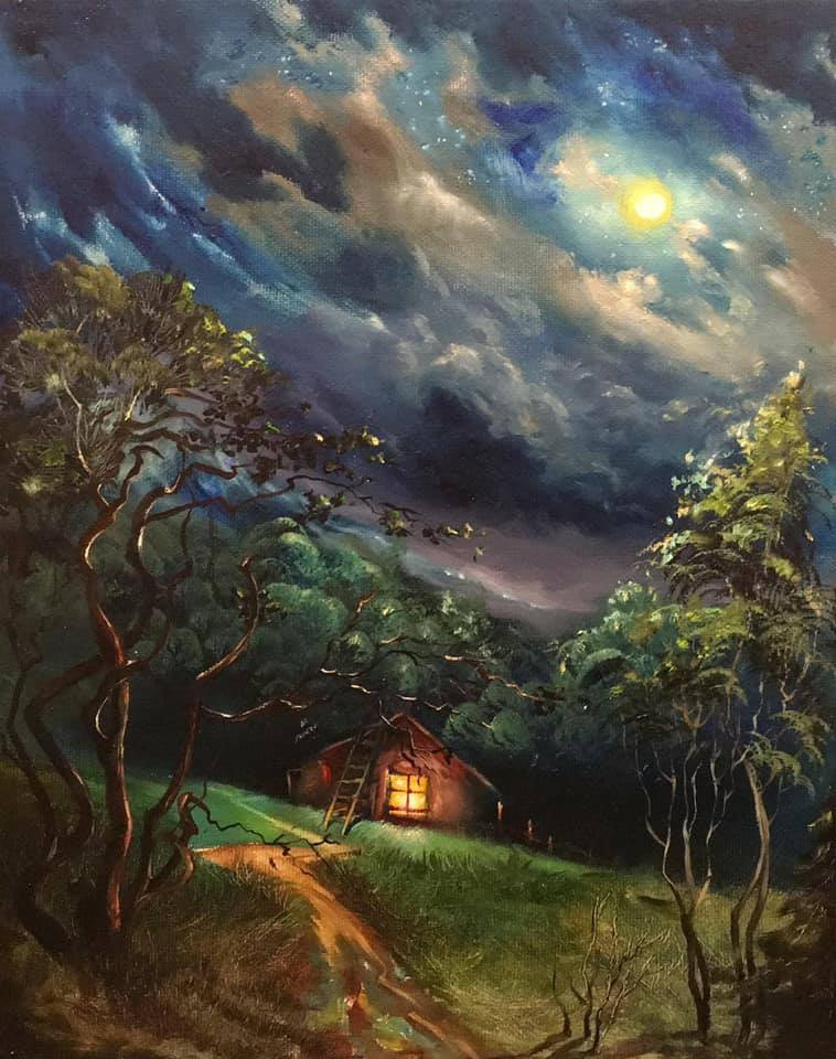 4 beautiful oil painting house by gor atabekyan art
