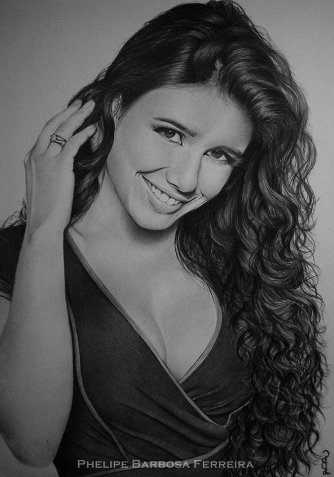 12 pencil drawing by phelipe barbosa