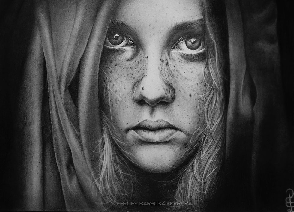 13 pencil drawing by phelipe barbosa