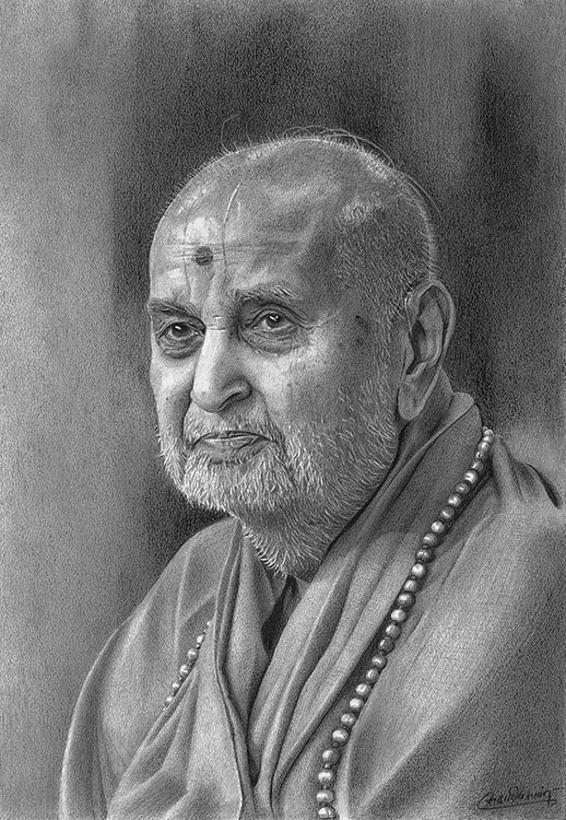 15 pencil drawings by sadashiv atmaram sawant