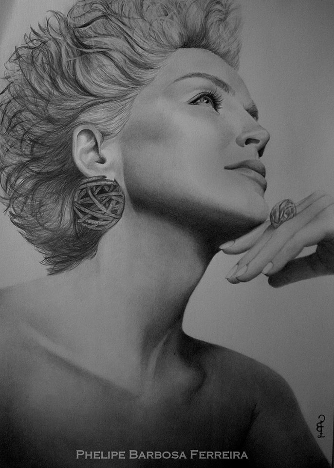 19 pencil drawing by phelipe barbosa