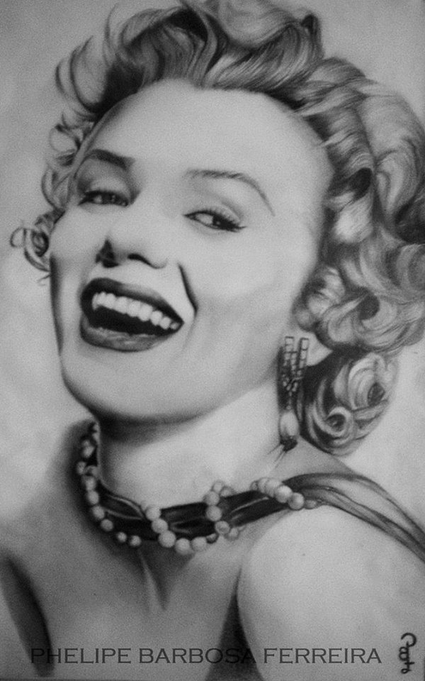 4 pencil drawing by phelipe barbosa