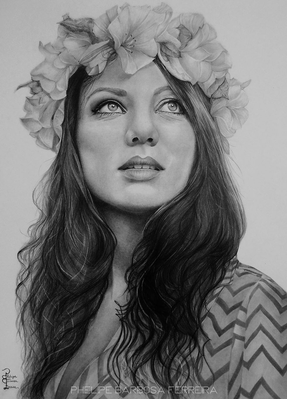 8 pencil drawing by phelipe barbosa