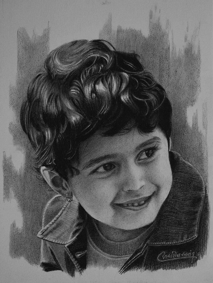 pencil drawings by sadashiv atmaram sawant