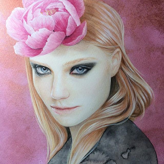 woman drawings by bec winnel