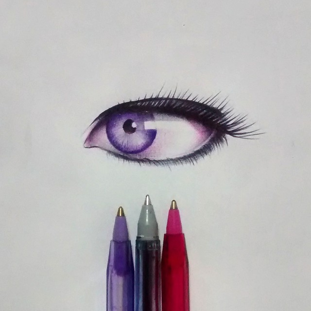 11 eyes drawing by gelson fonteles