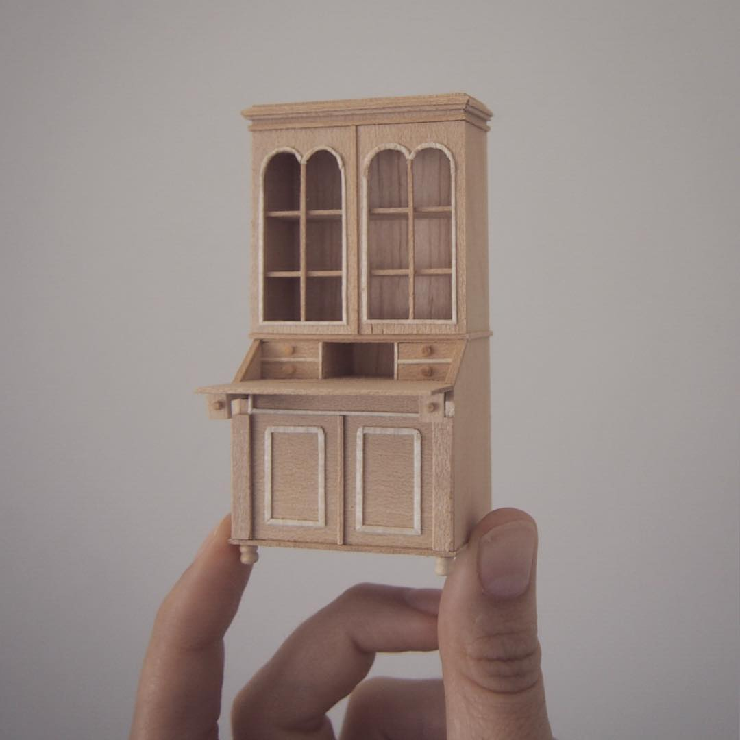 11 house miniature sculptures by emily boutard