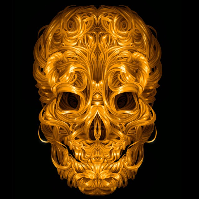 skull creative art works by james roper
