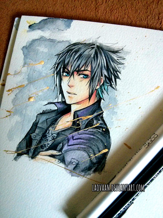 13 jack frost watercolor paintings by laovaan