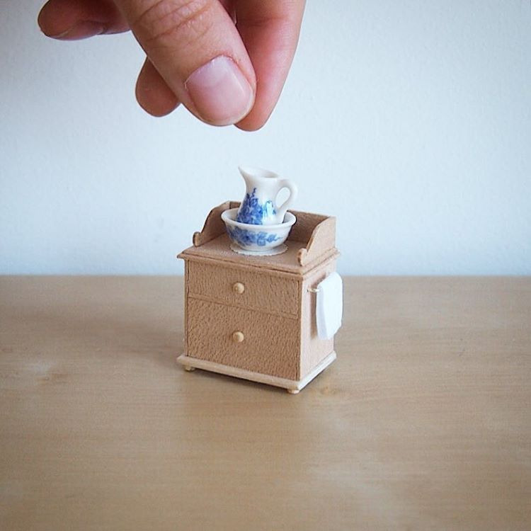 tea mug miniature sculptures by emily boutard