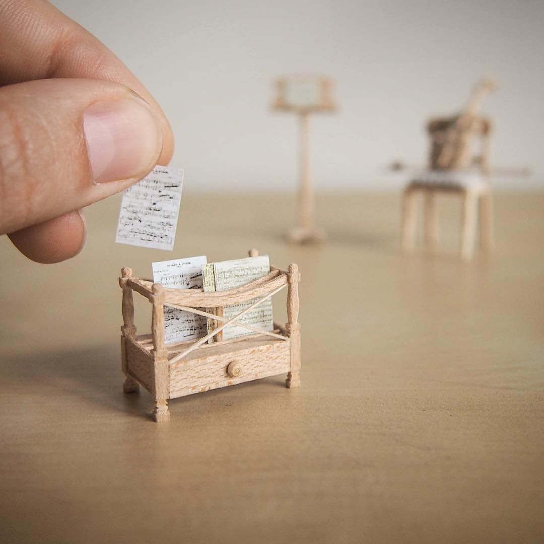 shelf miniature sculptures by emily boutard