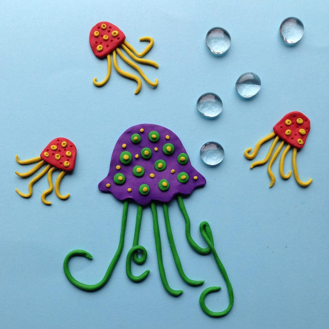 octopus creative art by aravis dollmenna
