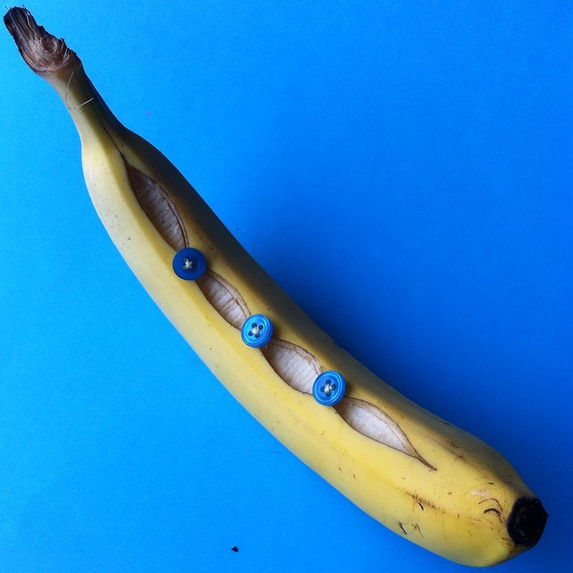banana creative art by aravis dollmenna