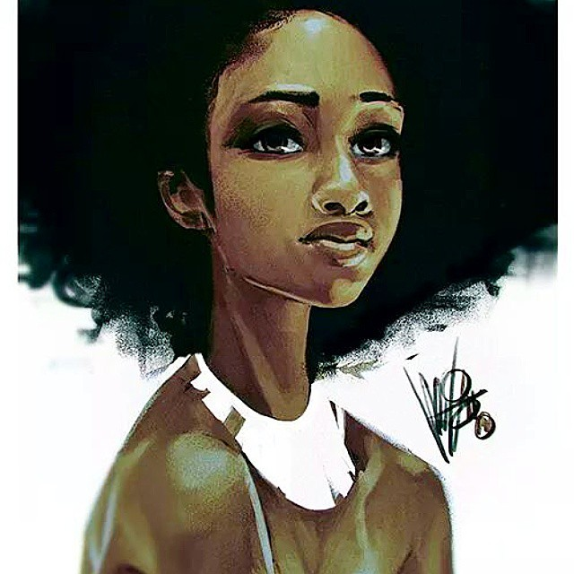 girl digital paintings by mel milton