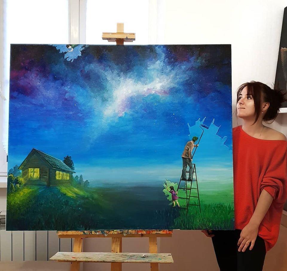 painting artwork wallpaper andreeva ekaterina