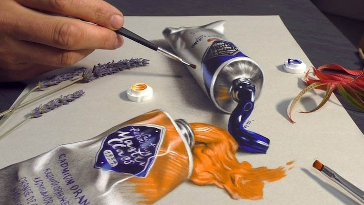 3d paintings paint stefan pabst