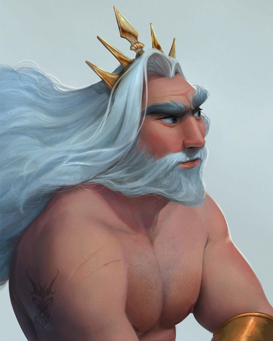 digital painting disney characters david ardinaryas lojaya