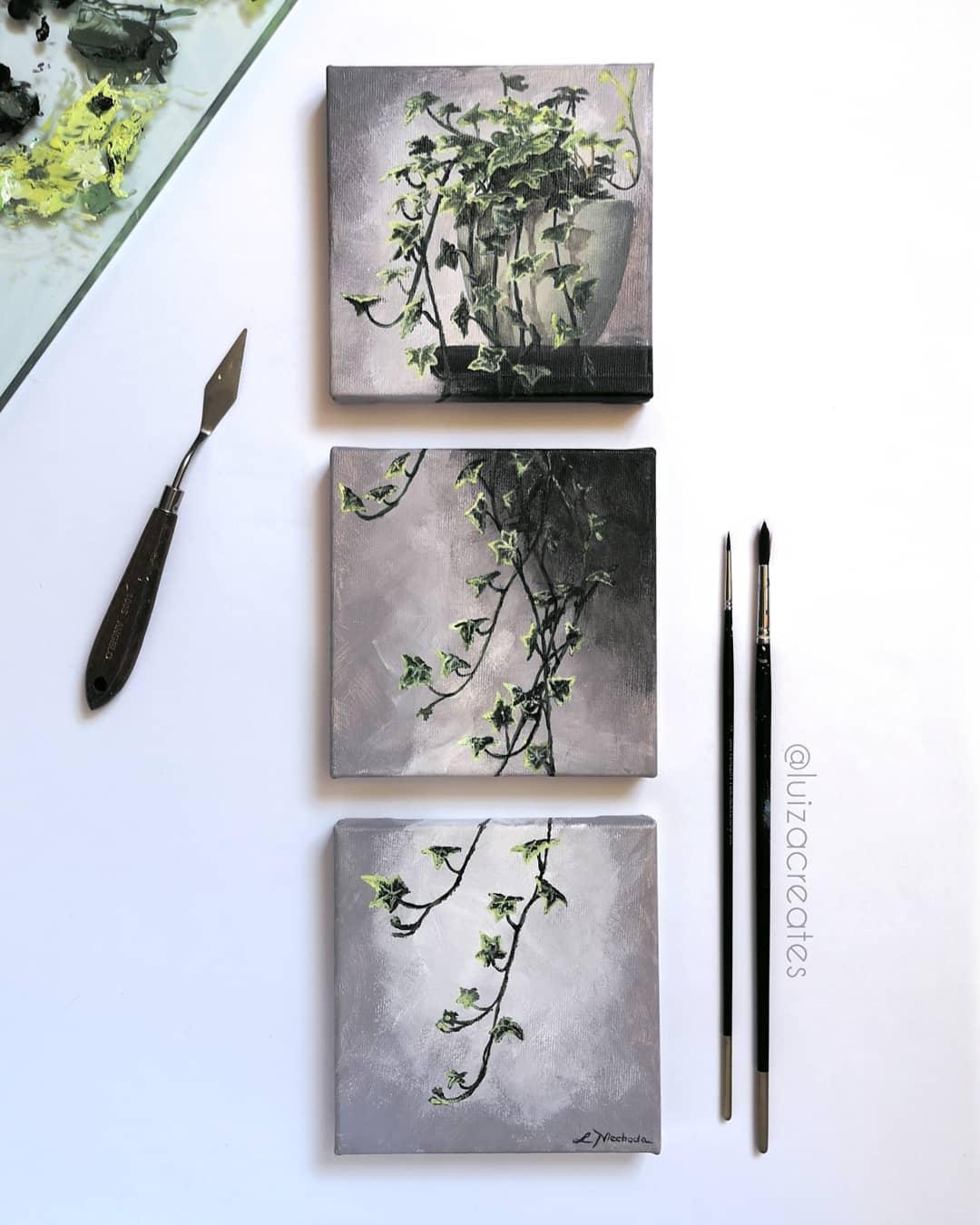 12 painting nature luiza niechoda