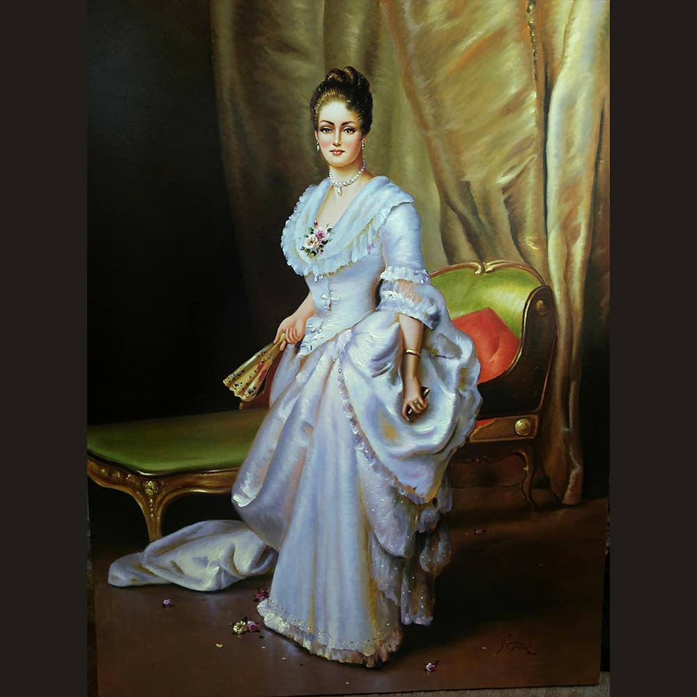 painting regal mahmood jafari