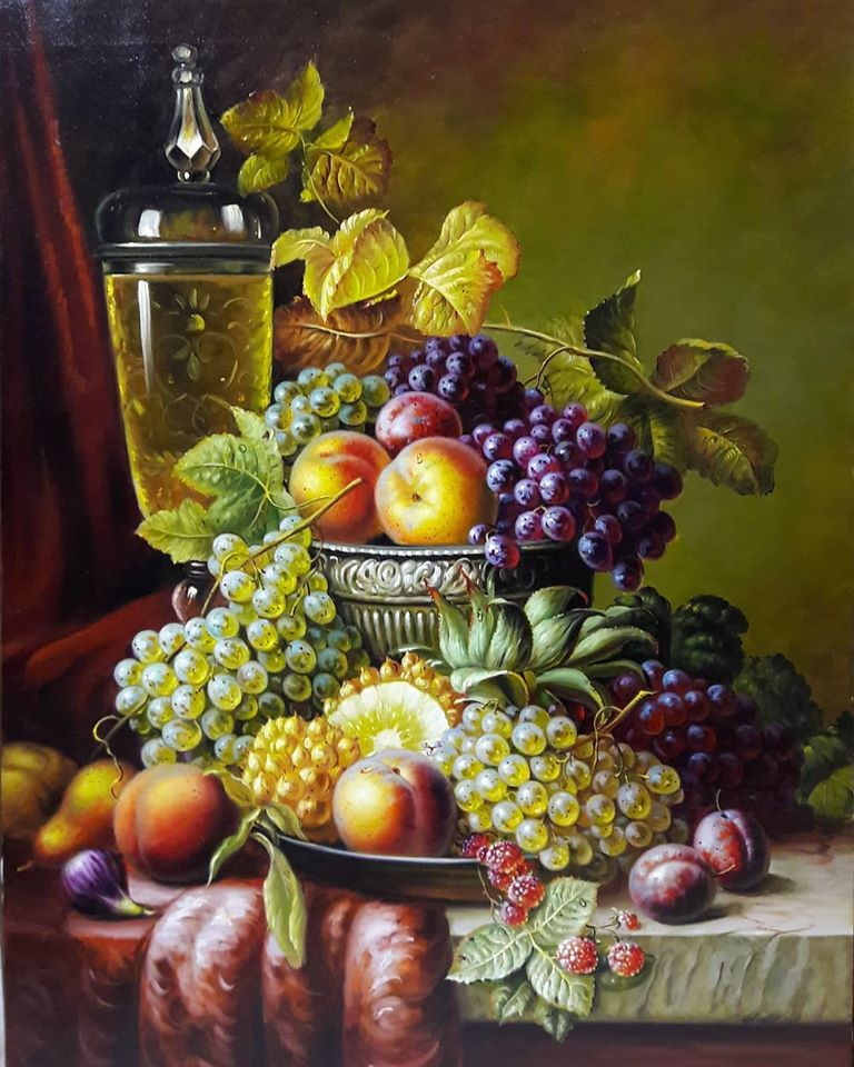 15 still life painting fruits mahmood jafari