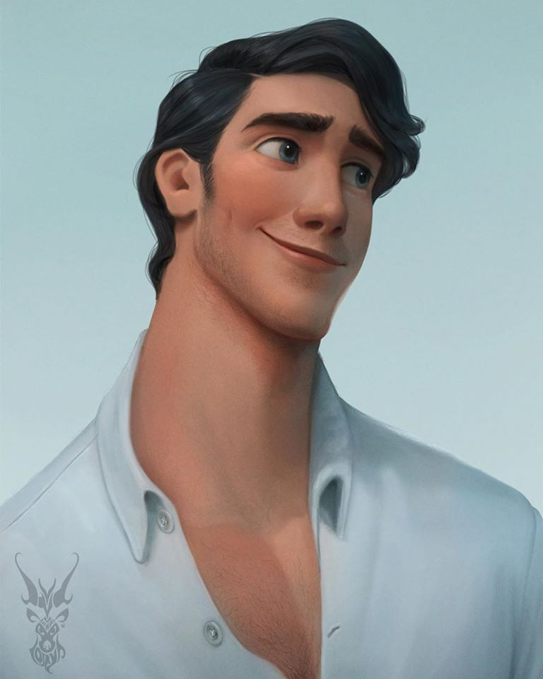 2 digital painting disney characters david ardinaryas lojaya