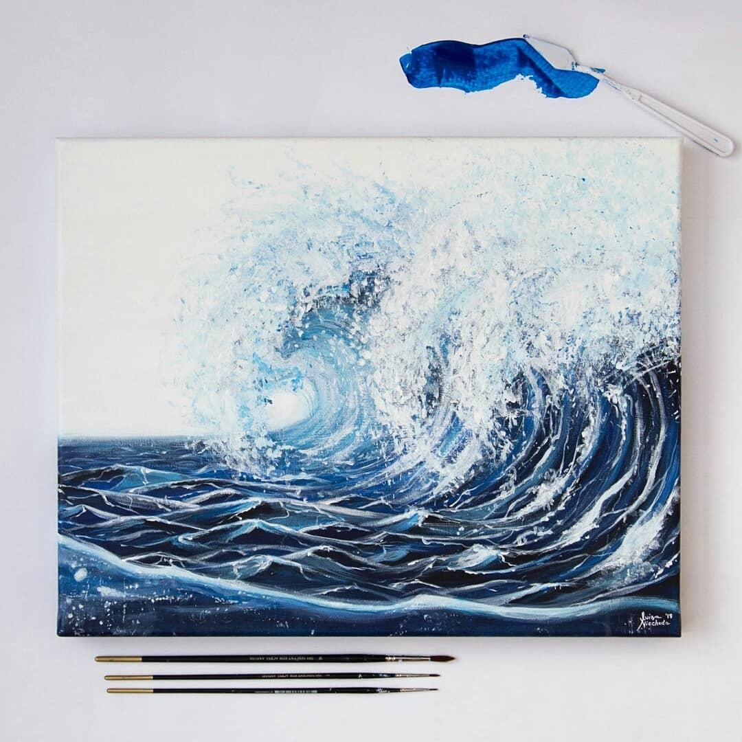 painting nature luiza niechoda