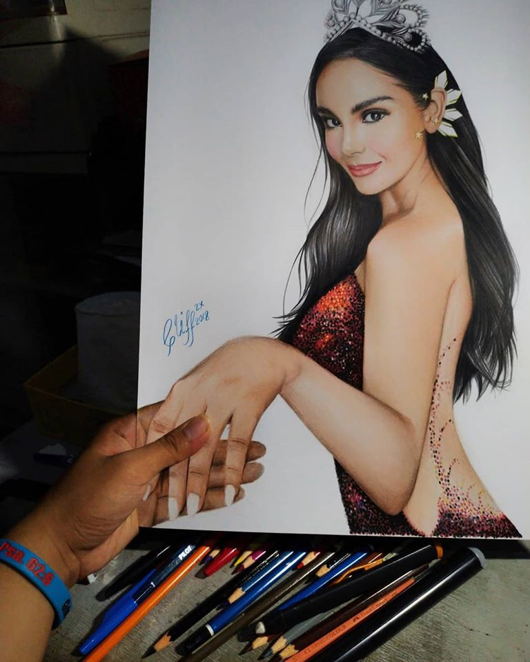 color pencil drawing princess cliff beron