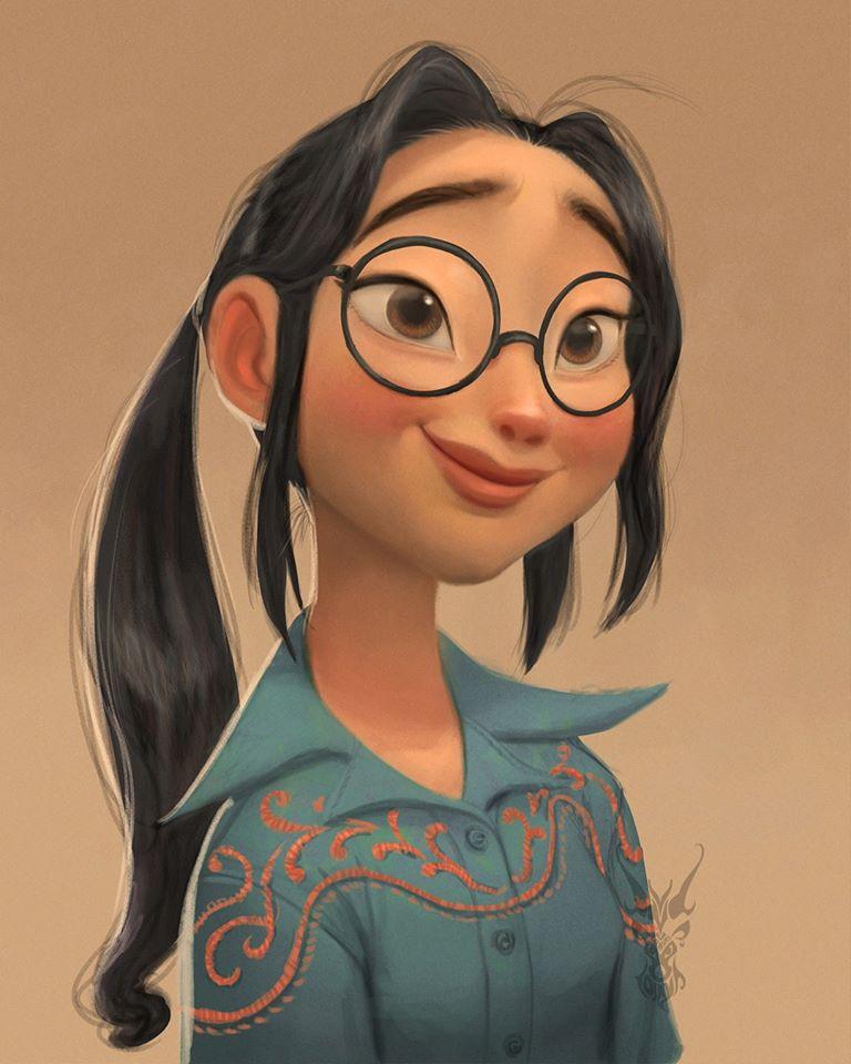 3 digital painting disney characters david ardinaryas lojaya