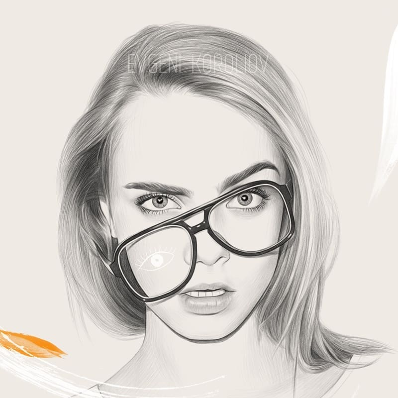 realistic pencil drawing broken glasses evgeni koroliov