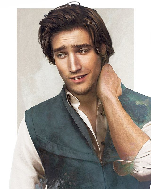 flynnrider disney realistic paintings by jirka vaatainen