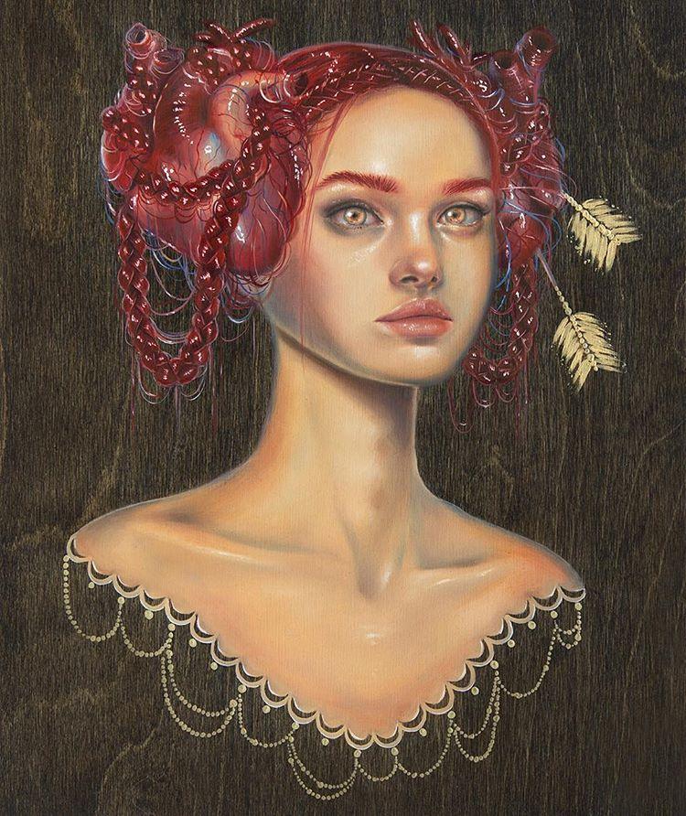 surreal paintings cordelia art august relliesbis