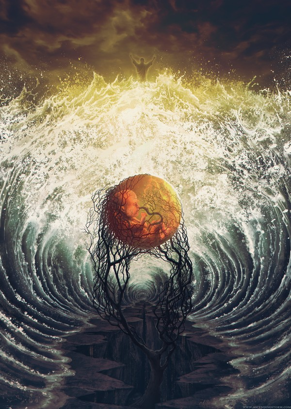 woven together depths earth digital paintings by jeffery smith