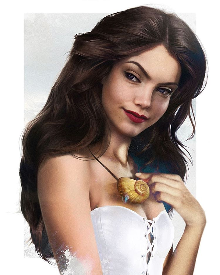vanessa disney realistic paintings by jirka vaatainen
