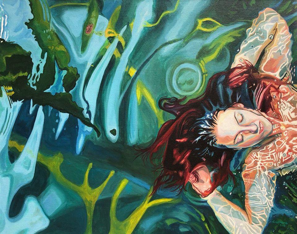 painting swim brianne williams