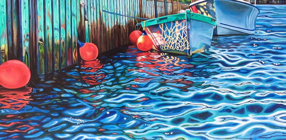 painting boats brianne williams