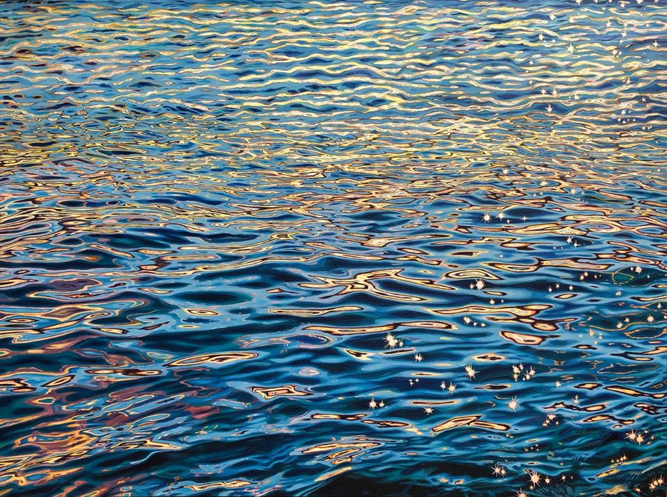 painting shine water brianne williams