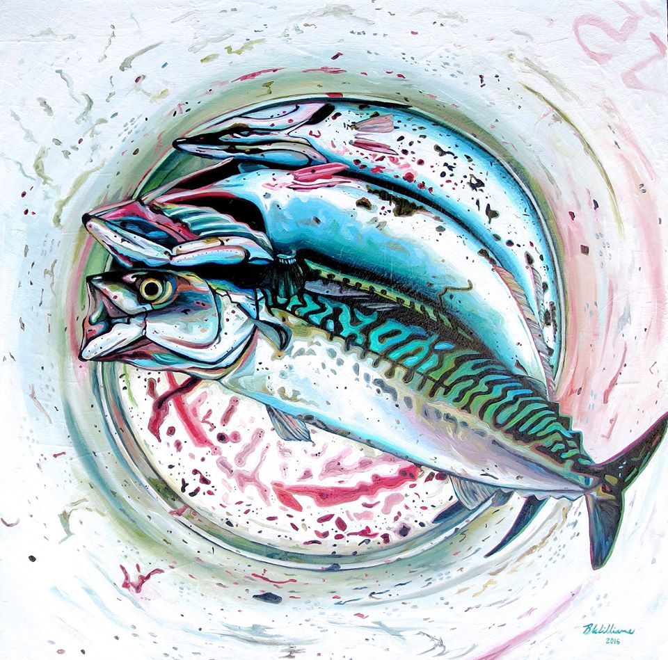 painting sardines brianne williams