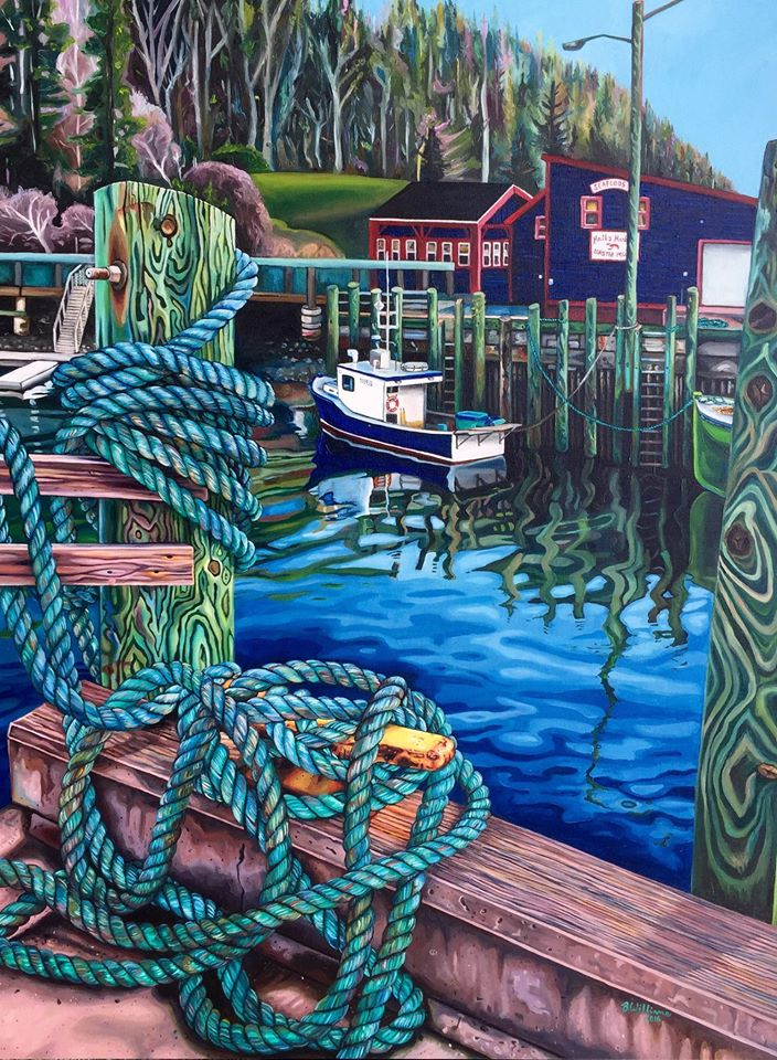 painting hall harbour brianne williams