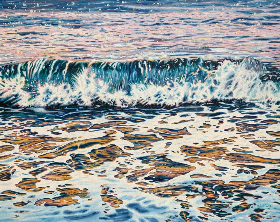 painting waves brianne williams