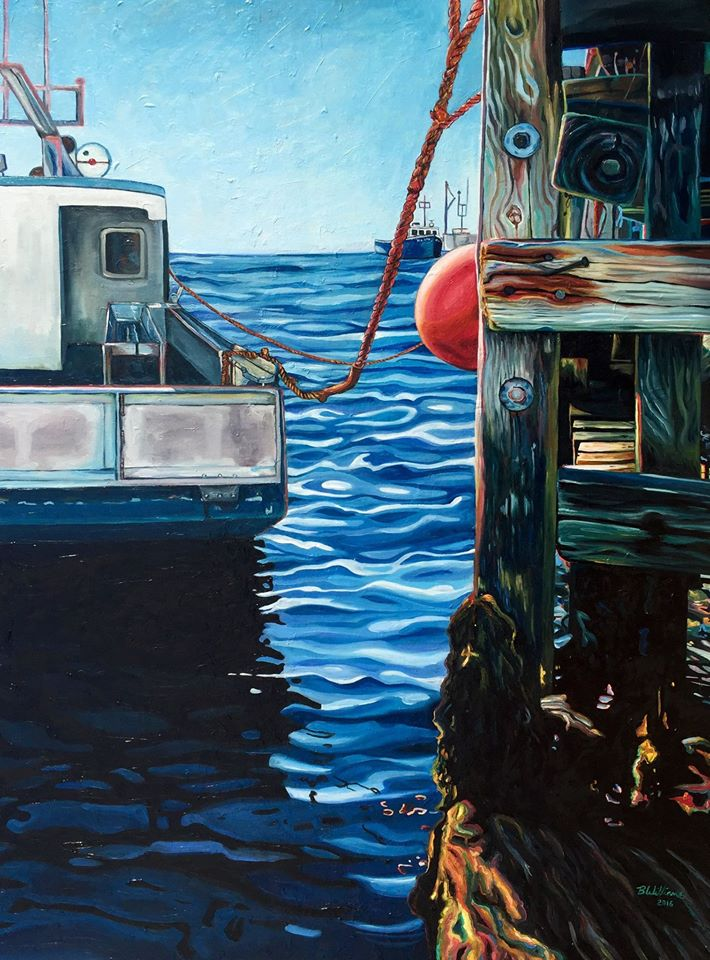 painting docking brianne williams